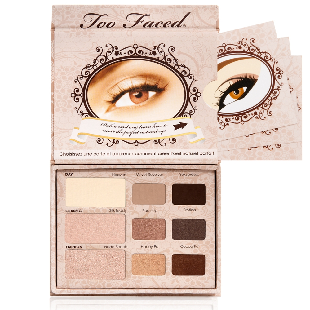 Review Too Faced Eye Shadow Palettes Beautybyblondi